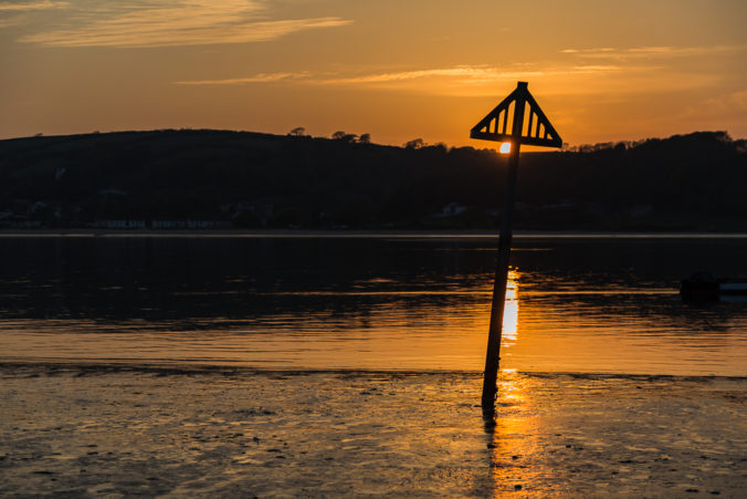 Ferryside sunset