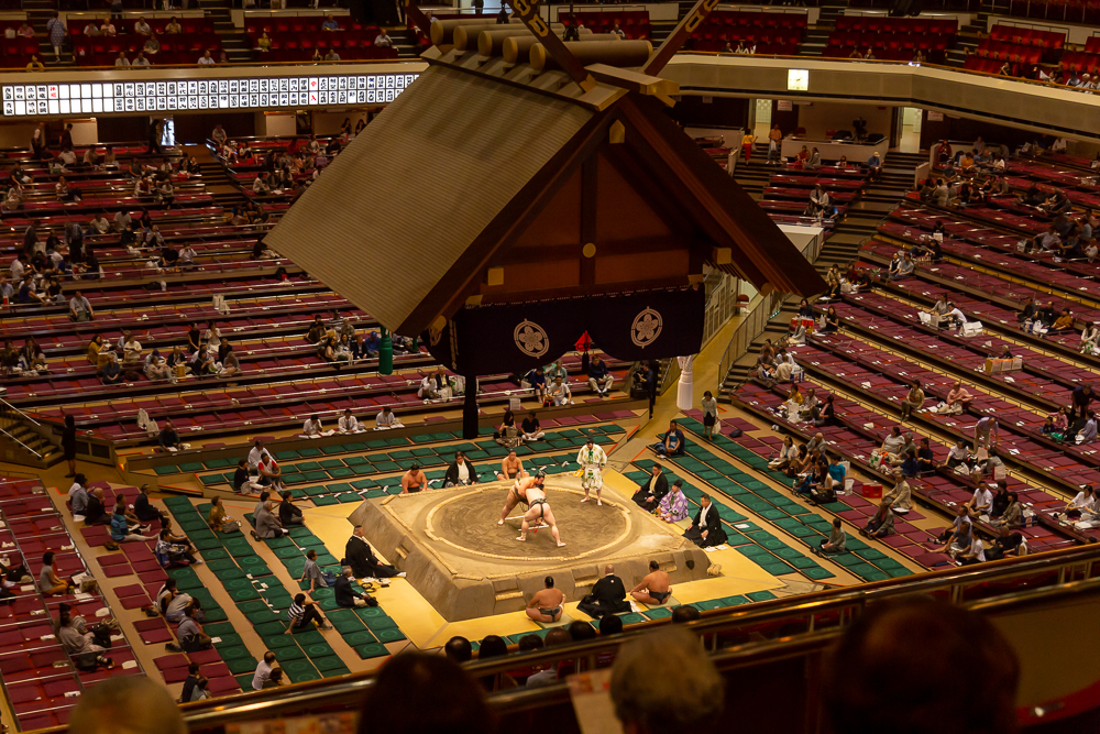 Photograph of Tokyo Sumo Tournament