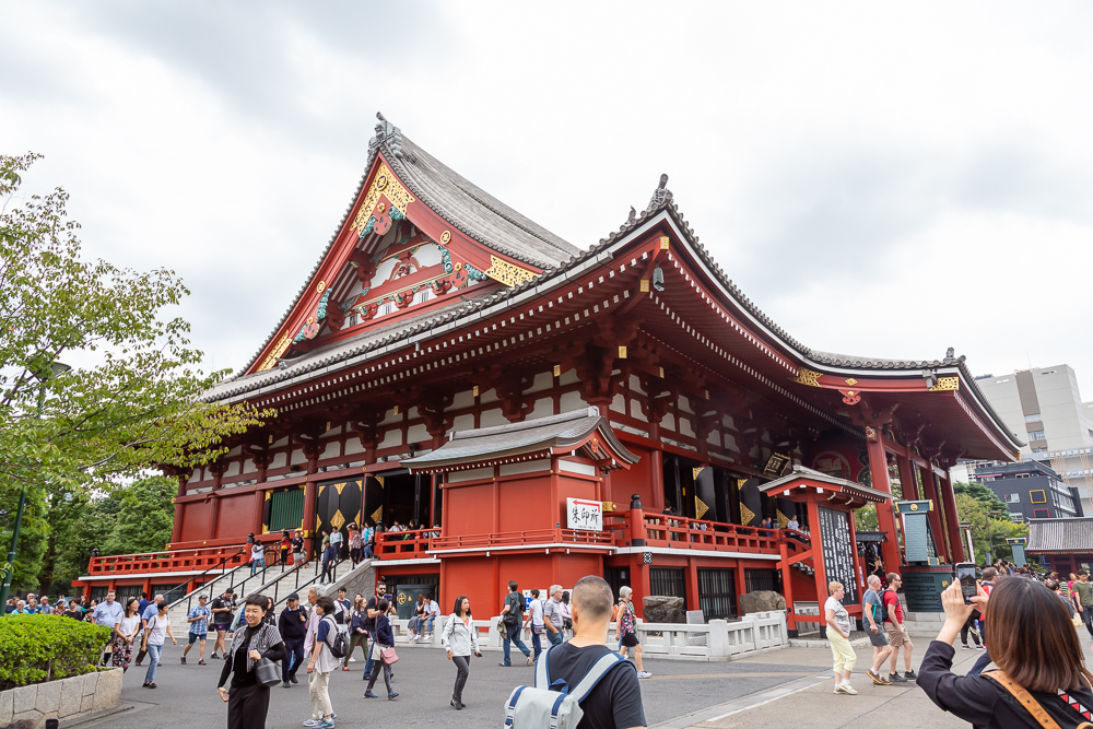 Photograph taken in Sensoji Temple