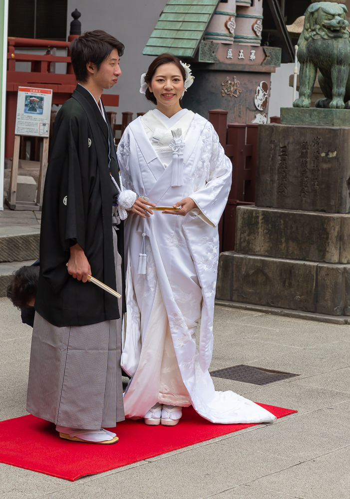 Photograph taken at the Asakusa Shrine